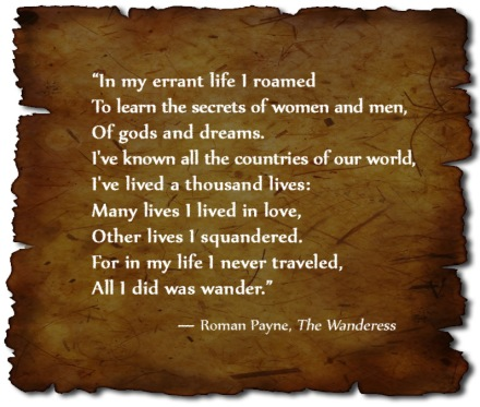 Roman Payne Literary Quote Travel